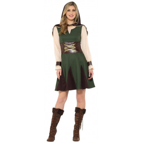 Disfraz de Arquera Robin Hood para Mujer
