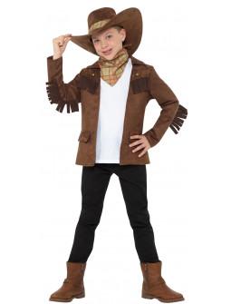 Disfraz de Vaquero con Chaqueta para Niño