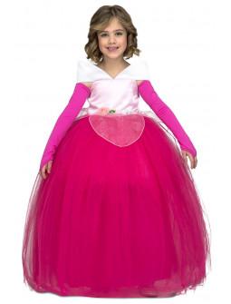 Disfraz de Bella Durmiente con Falda de Tul para Niña