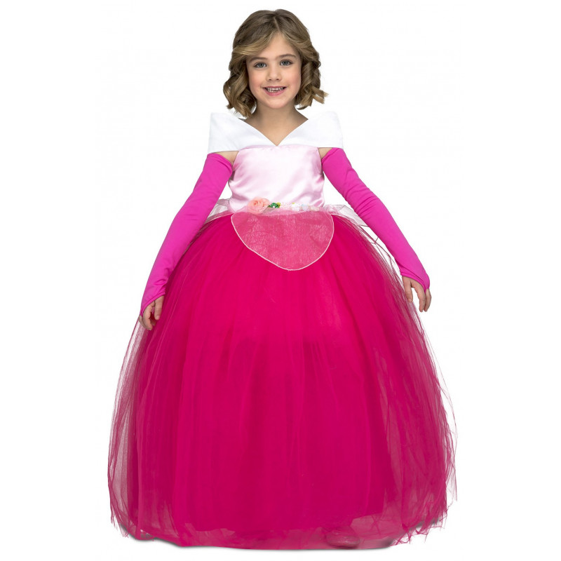 aaecd78f8 Disfraz de Bella Durmiente con Falda de Tul para Niña