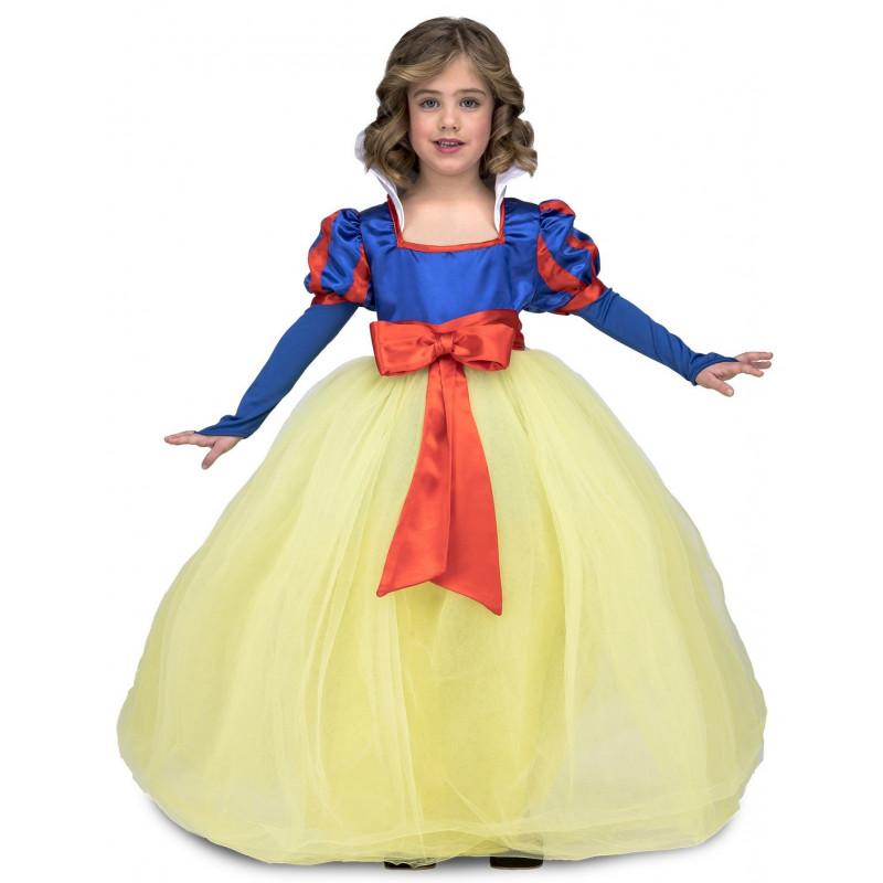 578ecc8a1 Disfraz de Blancanieves con Falda de Tul para Niña