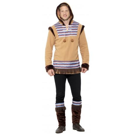 Disfraz de Esquimal del Ártico para Hombre
