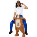 Disfraz a Hombros de Canguro para Adulto
