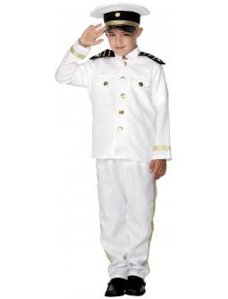 Disfraz de Capitán de Barco para Niño