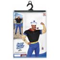 Disfraz de Popeye el Marino Musculoso para Hombre