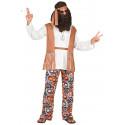 Disfraz de Hippie Pacifista Años 60 para Hombre
