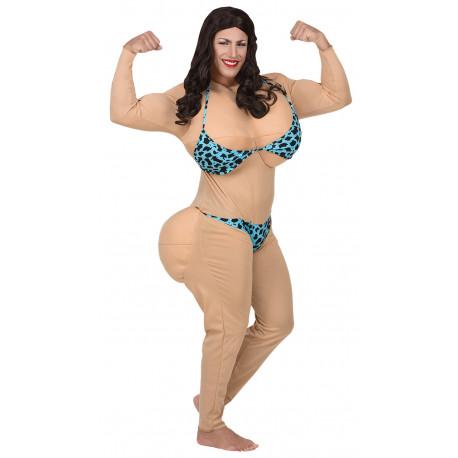Disfraz de Kim Kardashian en Bikini para Adulto