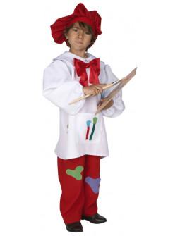 Disfraz de Pintor del Renacimiento Infantil