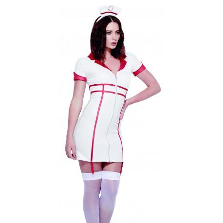 Disfraz de Enfermera Blanca Sexy para Mujer