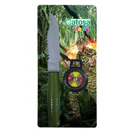 Cuchillo Militar con Brújula