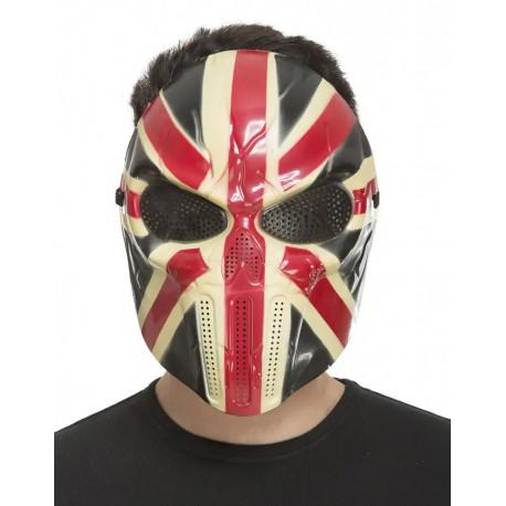 Máscara de la Purga Bandera Británica