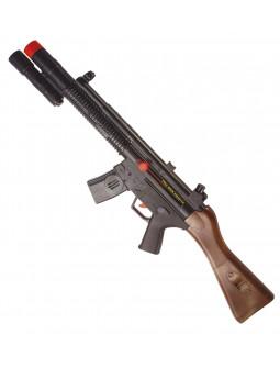 Escopeta de asalto con ruido
