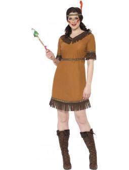 Disfraz de India Nativa para Mujer