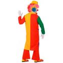 Chaqueta de Payaso Multicolor para Adulto