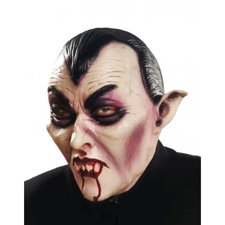 Máscara de Vampiro Drácula de Látex