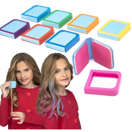 Tiza para Colorear el Pelo en Varios Colores