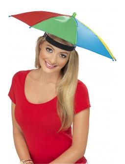 Sombrilla Multicolor Flegable para la Cabeza