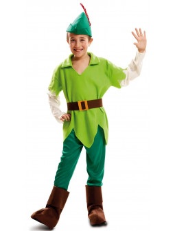 Disfraz de Peter Pan Nunca Jamás para Niño