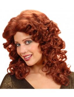 Peluca riza caoba - Quality Wig -