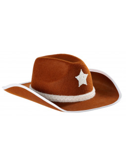 Sombrero de Sheriff Marrón