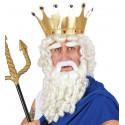 Peluca, barba, bigote y cejas - Natural Look -