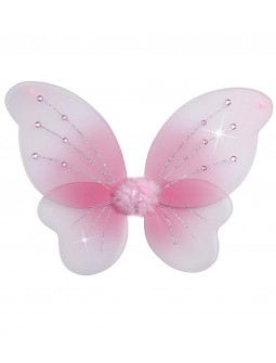 Alas en rosa, 50 X 40 cm