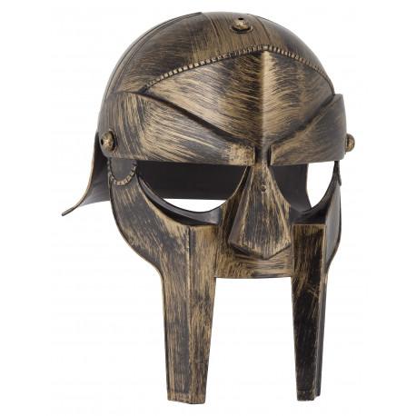 Casco de Gladiador Romano Dorado