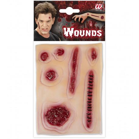 Siete Heridas de latex