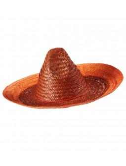 Sombrero de Paja Naranja