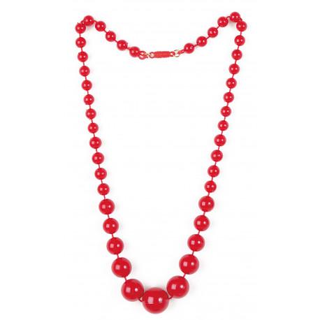 Collar Rojo de Sevillana