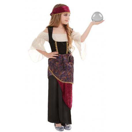 Disfraz de Adivina Gitana para Niña