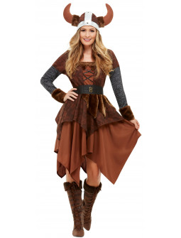 Disfraz de Valquiria Vikinga para Mujer