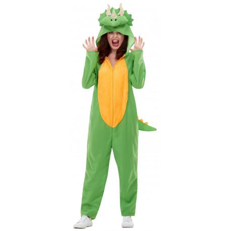 Disfraz de Dinosaurio Triceratops para Adulto