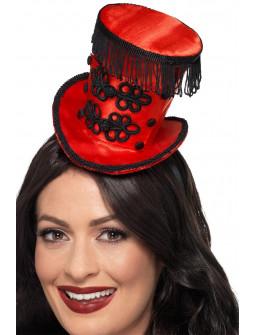 Mini Sombrero de Domadora Rojo