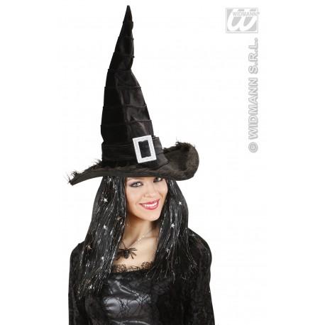 Sombrero de Bruja en terciopelo