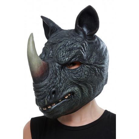 Máscara de Rinoceronte de Látex