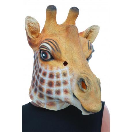 Máscara de Jirafa de Látex