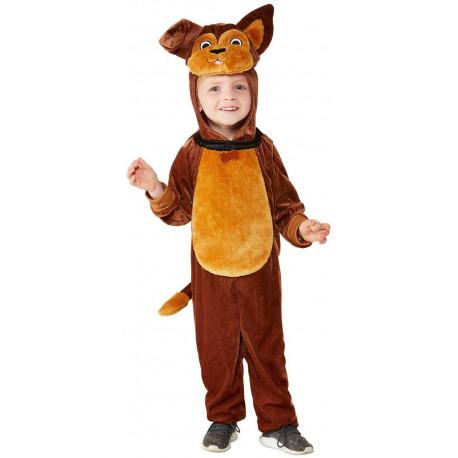 Disfraz de Perro Marrón para Bebé
