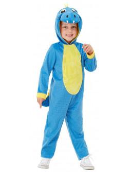 Disfraz de Dinosaurio Azul para Bebé