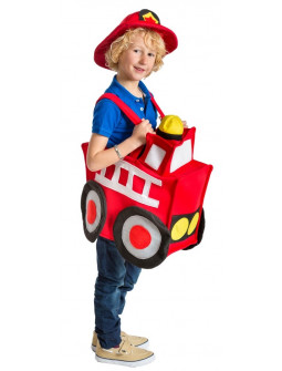 Disfraz de Camión de Bomberos Infantil