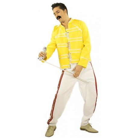 Disfraz de Freddie Mercury Premium para Hombre