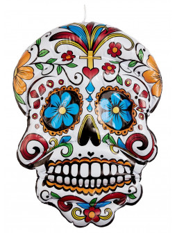 Calavera Mexicana Hinchable para Decoración