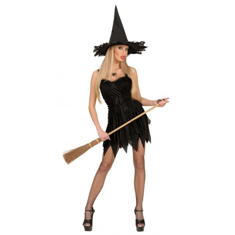 Vestido de Bruja negra
