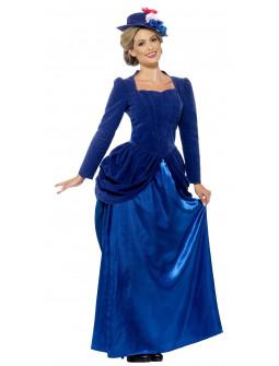 Disfraz de Dama Victoriana Elegante para Mujer