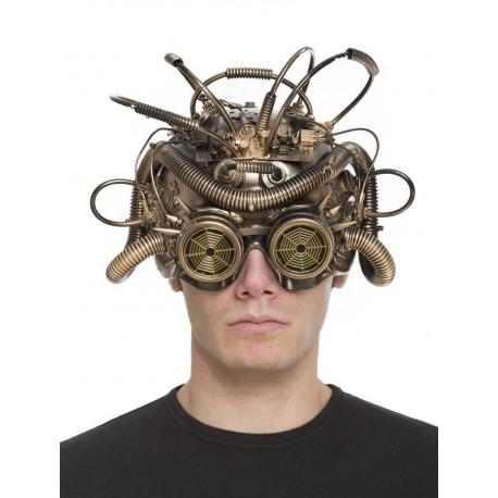 Máscara Steampunk Excéntrica para Adulto