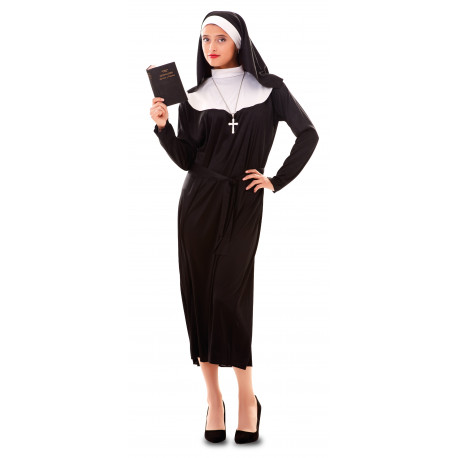 Disfraz de Monja Católica para Mujer