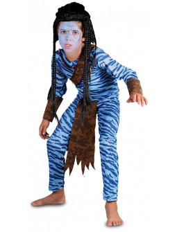Disfraz de Avatar para Niño