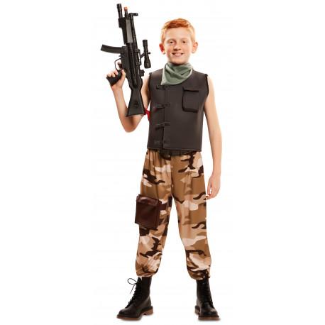 Disfraz de Ben Shafer Fortnite para Niño