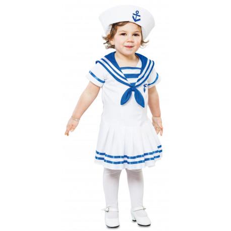 Disfraz de Marinera Blanca para Niña