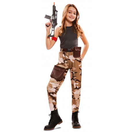 Disfraz de Soldado Fortnite para Niña